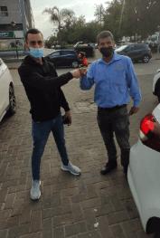 עוד לקוח מרוצה שרכש מכונית באופיר סוכניות