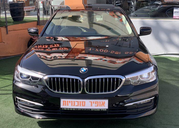חזית הרכב במוו E 530 e BUSINESS שחור 2019 קניית רכבי יוקרה יד 2
