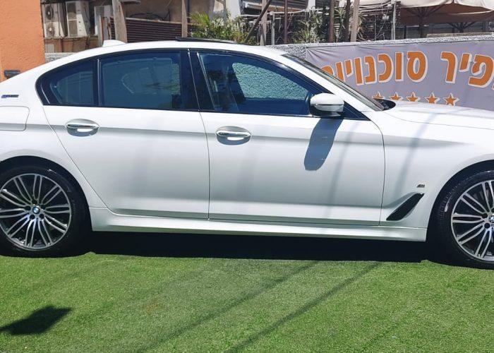 במוו E 530 e EXCLUSIVE לבן 2018 רכבי יוקרה יד 2