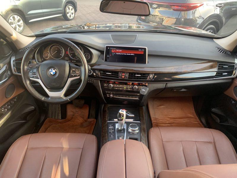 פנים הרכב מושב קדמי במוו X 5 30 D EXCLUSIVE שחור מטאלי 2019 קניית רכבי יוקרה יד 2