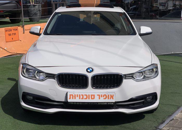חזית הרכב במוו i318 SPORT לבן 2016 קניית רכב יד 2