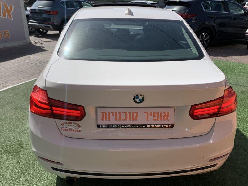 במוו i318 SPORT לבן 2016 קניית רכב יד 2