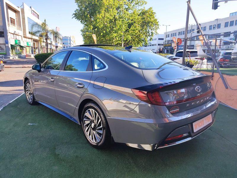 יונדאי סונטה היברידי LIMITED אפור בטון 2021 קניית רכב חדש