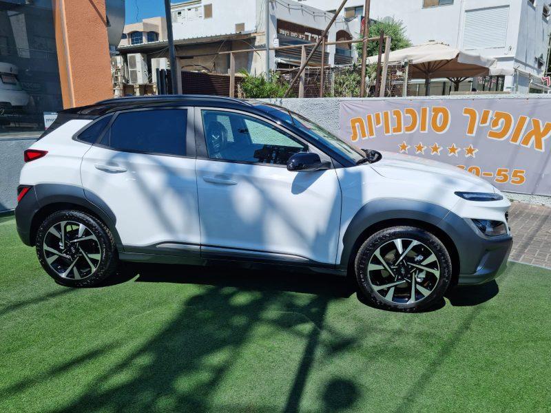 יונדאי קונה PRIMEPLUS FL לבן 2021 קניית רכב חדש