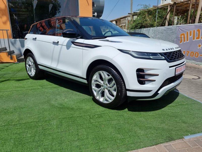 לנד רובר איווק R-DYNAMIC לבן 2021 רכבי יוקרה (2)