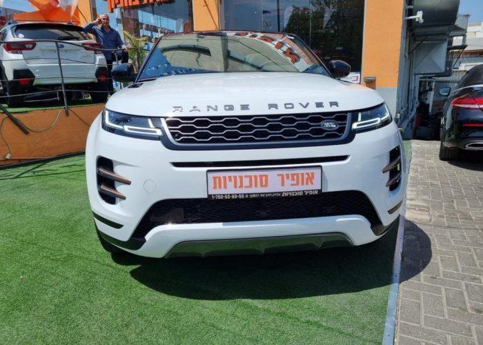 לנד רובר איווק R-DYNAMIC לבן 2021 רכבי יוקרה