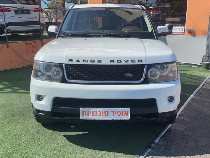 חזית הרכב לנד רובר רינג'רובר ספורט SE לבן 2013 קניית רכב יד 2