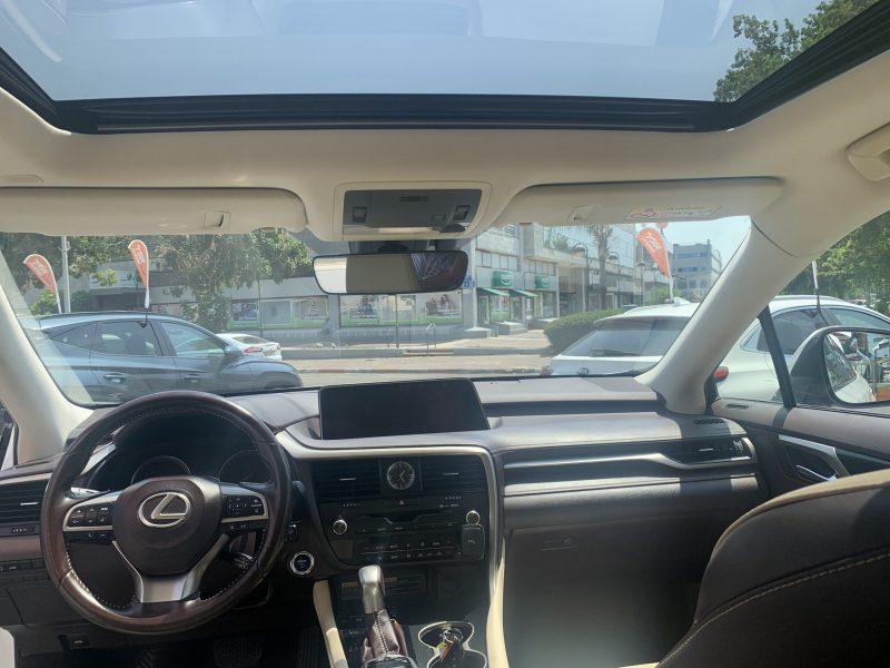לקסוס RX 450 H PREMIUM 7 מושבים לבן פנינה 2018 קניית רכב יד 2