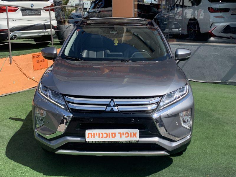 חזית הרכב מיצובישי אקליפס קרוס PREMIUM אפור 2018 קניית רכב יד 2