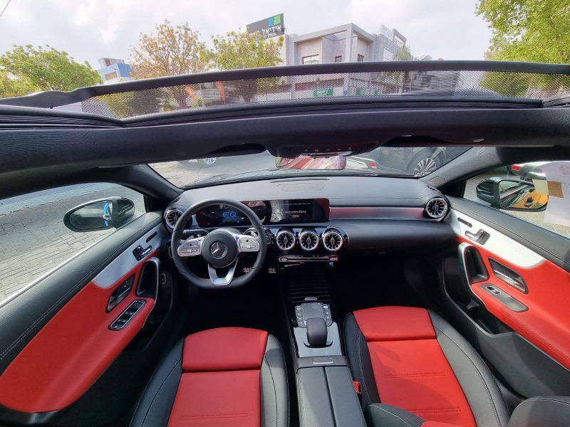 מרצדס A-250 AMG שחור 2021 רכבי יוקרה וספורט