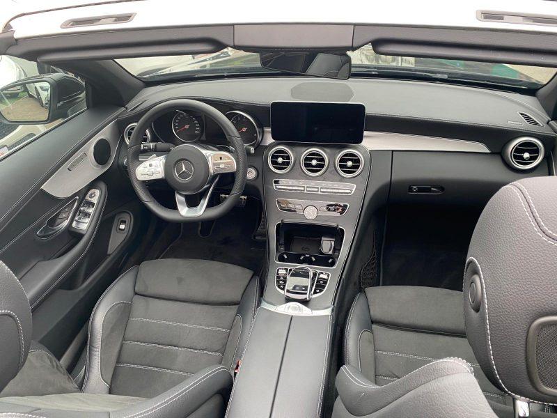 מרצדס C 300 קבריולט AMG שחור 2021 רכבי יוקרה וספורט