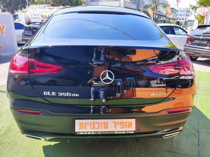 מרצדס DE קופה GLE AMG שחור 2021 רכבי יוקרה 0 קמ (4)