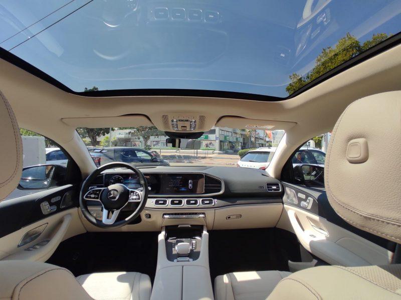 פנים הרכב מרצדס DE קופה GLE AMG שחור 2021 רכבי יוקרה 0 קמ