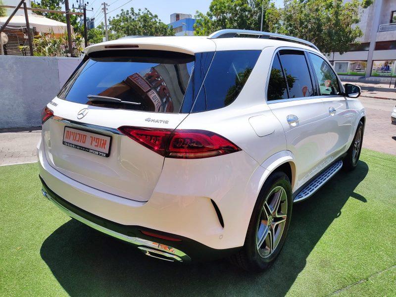 מרצדס GLE 350 D לבן 2021 קניית רכב חדש