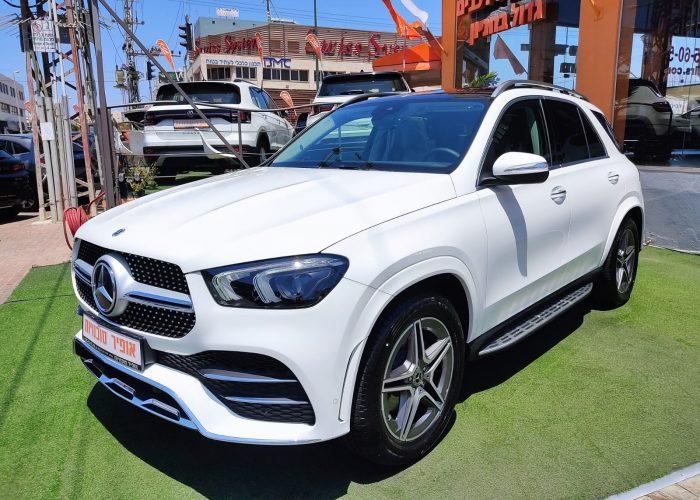 """מרצדס GLE 350 D לבן 2021 קניית רכב חדש. קניית רכבי יוקרה 0 ק""""מ"""