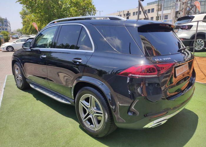 """מרצדס GLE 350 D שחור מטאלי 2021 קניית רכבי יוקרה 0 ק""""מ"""