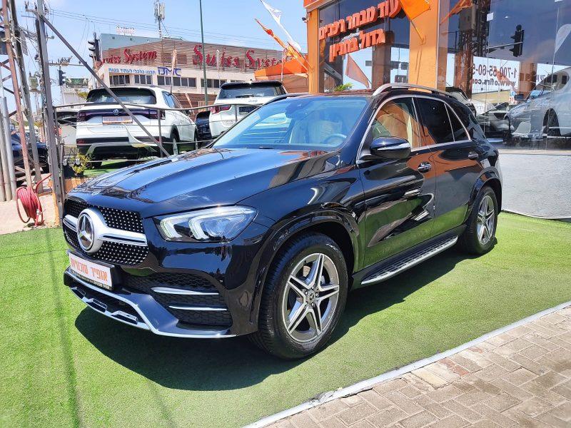 מרצדס GLE 350 D שחור מטאלי 2021 קניית רכב חדש