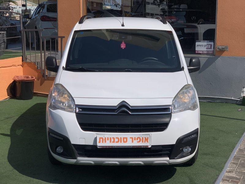 חזית הרכב סיטרואן ברלינגו XTR לבן 2018 קניית רכב יד 2