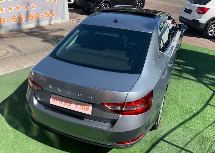 סקודה סופרב STYLE 2021 אפור מטאלי קניית רכב חדש