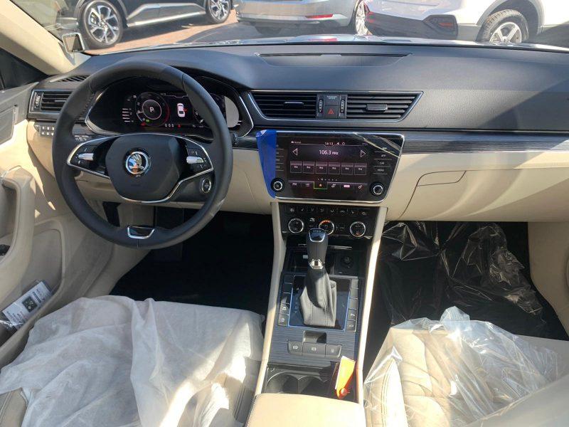 סקודה סופרב STYLE 2021 כסף קניית רכב חדש