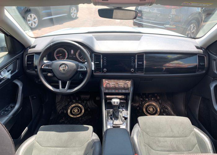 סקודה קודיאק STILE כסף מטאלי 2020 קניית רכב יד 2