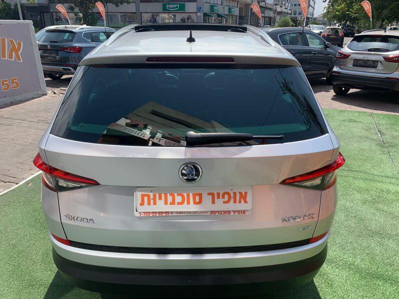 גב הרכב סקודה קודיאק STILE כסף מטאלי 2020 קניית רכב יד 2