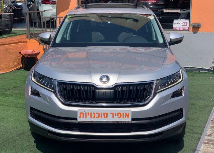 חזית הרכב סקודה קודיאק STILE כסף מטאלי 2020 קניית רכב יד 2