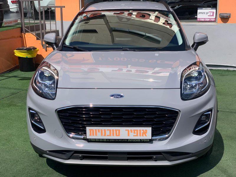 פורד פומה TITANIUM אפור רכב חדש 0 קמ בטון 2021