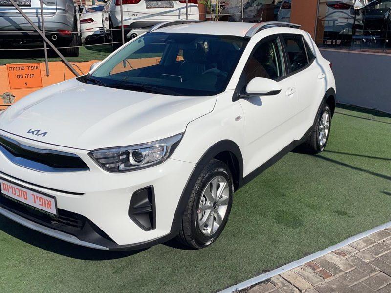 קאיה סטוניק LX לבן 2021 קניית רכב 0 קמ