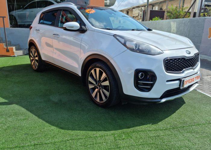 קאיה ספורטג חדש EX 2016 לבן קניית רכב יד 2