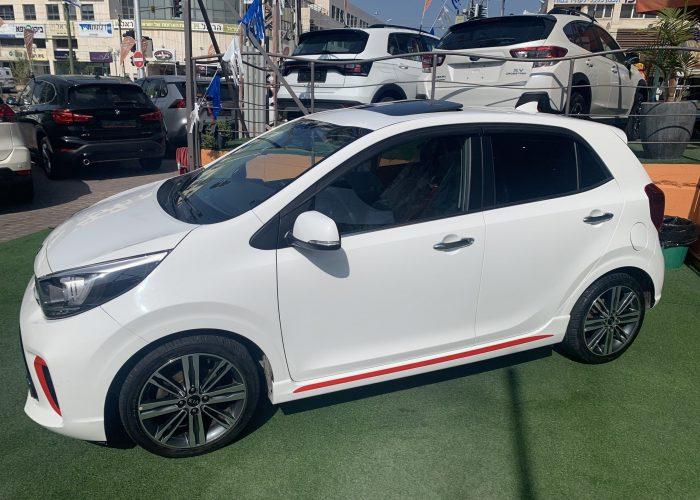 קאיה פיקנטו החדשה GT לבן 2018 (5)