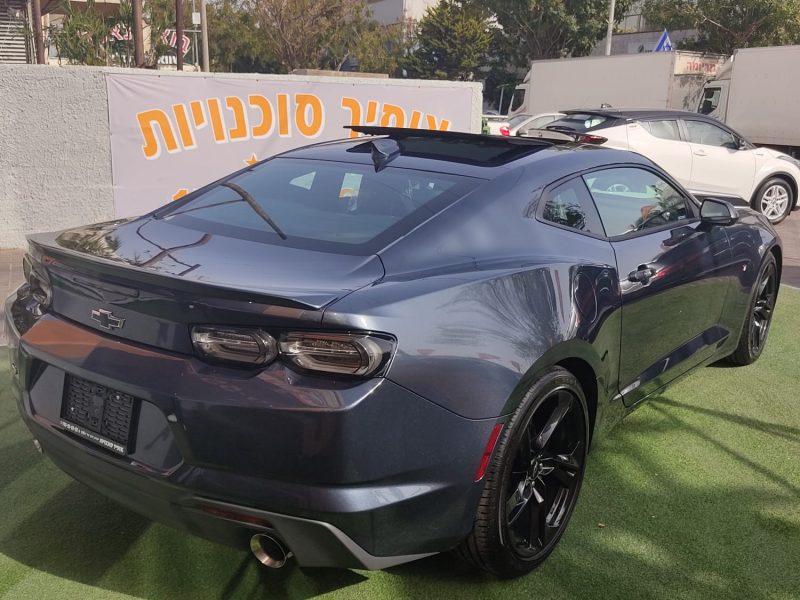 שברולט קאמרו RS אפור מטאלי 2021 (1)