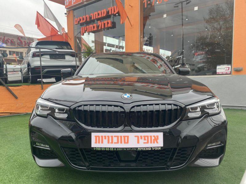 M-SHADOW במוו E 330 שחורה 2021 מכירת רכבי יוקרה צילום חזית הרכב